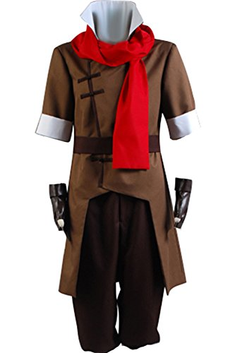 CosplaySky Avatar The Legend of Korra Mako Cosplay Halloween Costume Medium -