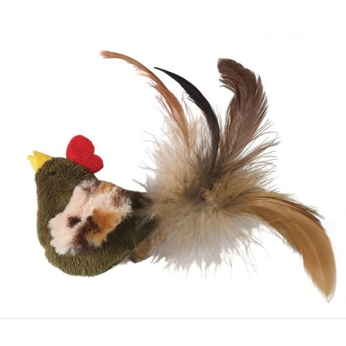 Ethical Feather Mania Chicken Cat Toy, My Pet Supplies