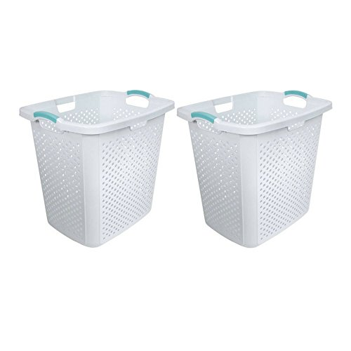 Home Logic 2.5-Bu XL-Capacity Lamper Laundry Basket and Hamper (2)