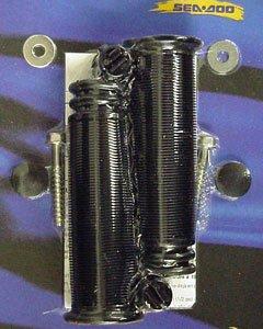 SeaDoo OEM PWC Handle Grip Kit Black 295500110 ()