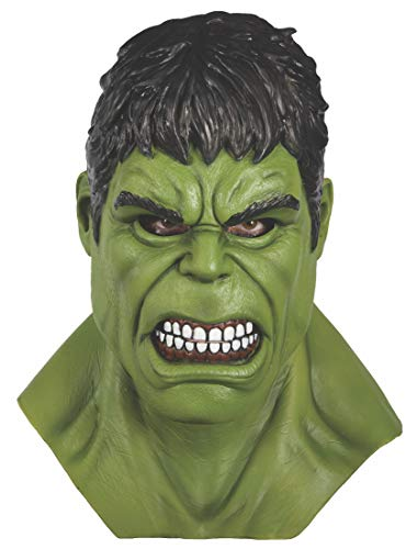 Incredible Hulk Costumes For Adults - Rubie's Adult Marvel Hulk Overhead Latex