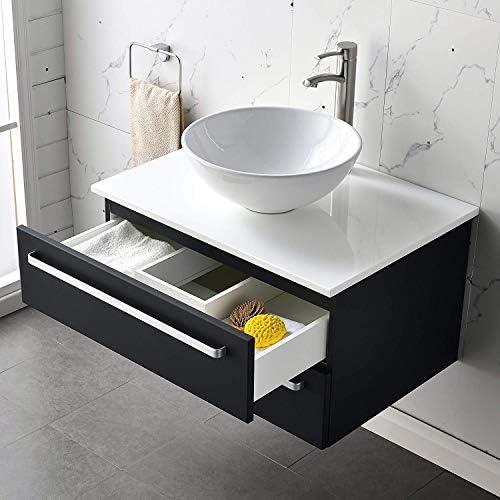 LifeSky Modern Bathroom Vanity