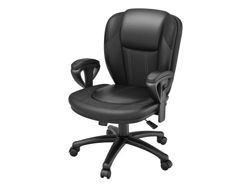 - Z-Line Designs Manager Chair, Black Bonded
