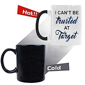 Amazon I Cant Be Trusted At Target Coffee Mug
