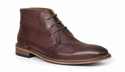 Giorgio Brutini Rust Rødt Skinn Chukka Boots