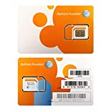 (2 Pack) Authentic AT&T ATT SIM Card Nano GSM