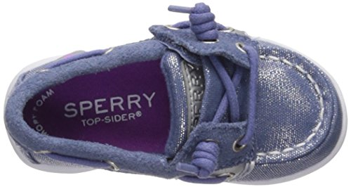 Pictures of Sperry Girls' SHORESIDER JR/Blue Boat Shoe CG59761 2