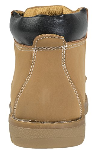 Lora Dora Kids Faux Leather Worker Ankle Boots Honey - Pu cuV1vB45