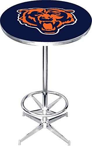 Imperial Officially Licensed NFL Furniture: Round Pub-Style Table, Chicago (Nfl Pub Table)