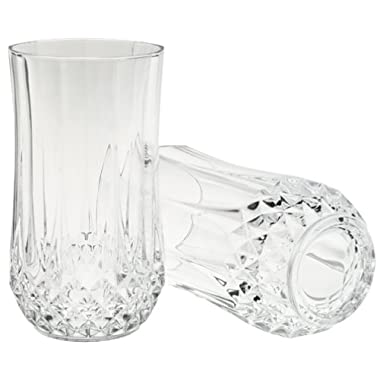 Cristal D'Arques Longchamp 11-1/4 Ounce Tumbler, Set of 4