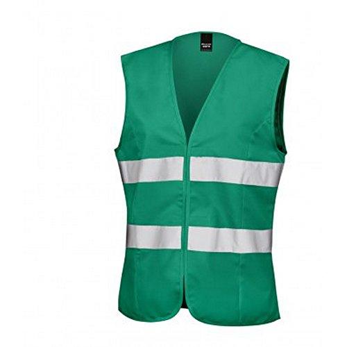 Result Core Womens/Ladies Sleeveless Hi Vis Vest