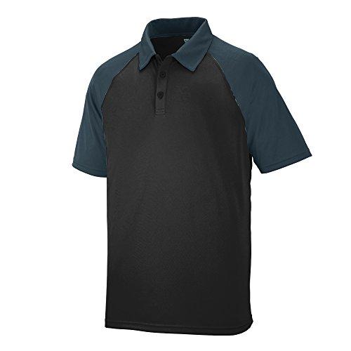 Augusta Sportswear Men's Scout Sport Shirt 3XL Black/Slate