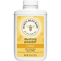 Burt's Bees Baby 100% Natural Dusting Powder, 4.5 Ounces (Pack of 3) (Packagi...