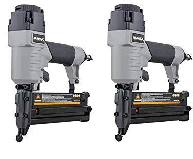 NuMax S2-118G2 Pneumatic 2-in-1 18-Gauge 2 Brad Nailer and Stapler Ergonomic Lightweight Pneumatic Combo Brad Staple Gun with Depth Adjust Tw k