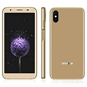 DOOGEE X55 1GB+16GB 5.5 inch Android 7.1 MTK6580 Quad Core up to 1.3GHz GSM & WCDMA (Gold)