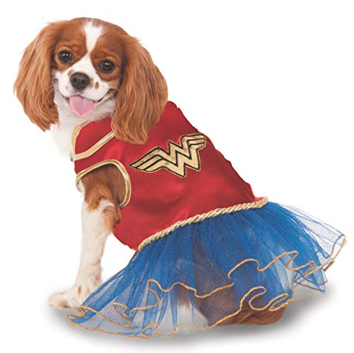 DC Comics Wonder Woman Pet Tutu Dress, X-Small