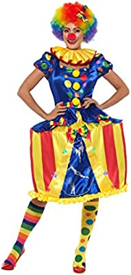 Smiffys Deluxe Light Up Carousel Clown Costume Disfraz de Payaso ...