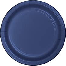 """Club Pack of 240 Navy Blue Disposable Paper Party Lunch Plates 7"""""""