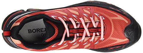 Boreal Climbing Shoes Womens Lightweight Alligator Red Gray 31646 Red Grey NwXoqj6