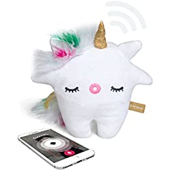 Talkie by Toymail: Nunu a Unicorn, WIFI Voice chat smart toy lets kids stay connected to you, As seen on Shark Tank