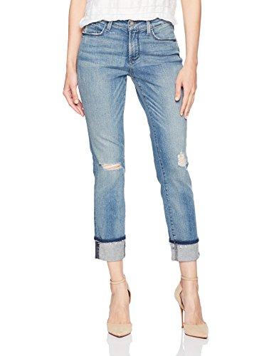 NYDJ Womens Marnie Boyfriend Jeans in Premium Lightweight Denim