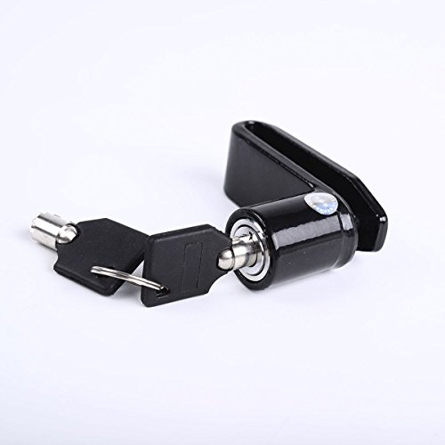 Bike Bicycle Motorcycle Safety Anti-theft Disk Disc Brake Wheel Lock 2 Keys - A Find Oakley Store