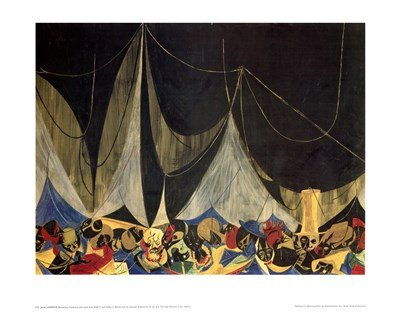 Marionettes by Jacob Lawrence - Art Print Poster