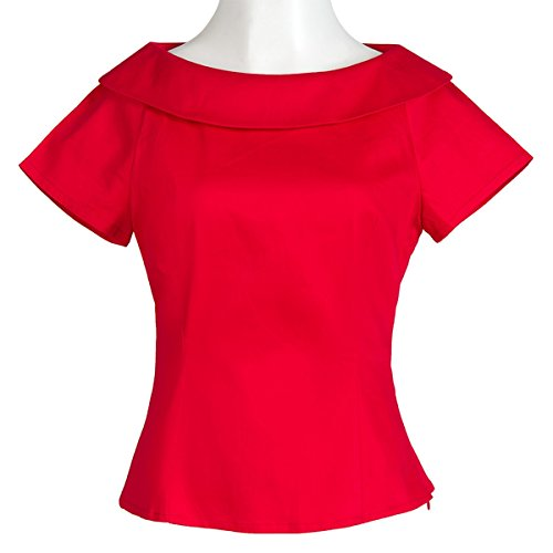 Summer Moda Blusa Plain Basic Qhdz Manga Causal Camiseta Corta De Red Pan Tops Tees Mujeres Slim Peter Mujer AxaPqaH1