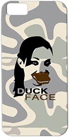 Duckface Coque antichoc en TPU pour iPhone 5C Motif visage de ...