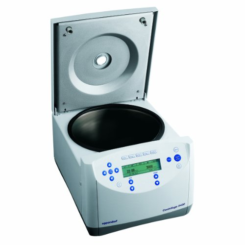 Eppendorf 022620533 5430 Microcentrifuge with Keypad Control without Rotor, 230 V/50 Hz