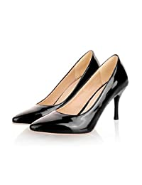 hotrilicoc Big Size 34-45 Heels Women Pumps Thin Heel Classic White red nede Beige Sexy Prom Wedding Shoes