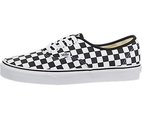 - Vans Unisex Authentic Checkerboard Black/True White Size Men's 6.5/Women's 8