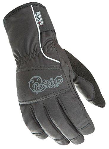 Joe Rocket Womens Cold Weather Gloves (Black, Medium) (Ballistic 7.0)