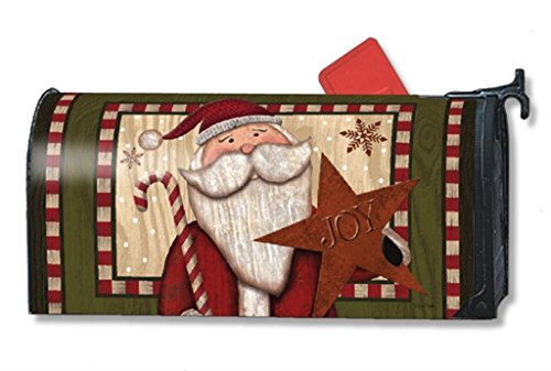 Mailwraps Stars (MailWraps Santa with Star MailWrap Mailbox Cover 00126)