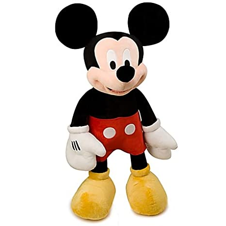 Amazon Com Jumbo 48 Plush Disney Mickey Mouse Doll Toys Games