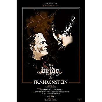 BRIDE OF FRANKENSTEIN 24 x 36 ONE SHEET MOVIE POSTER