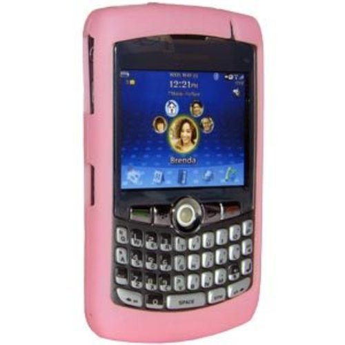 Amzer Silicone Skin Jelly Case for BlackBerry 8300 Curve - Baby Pink