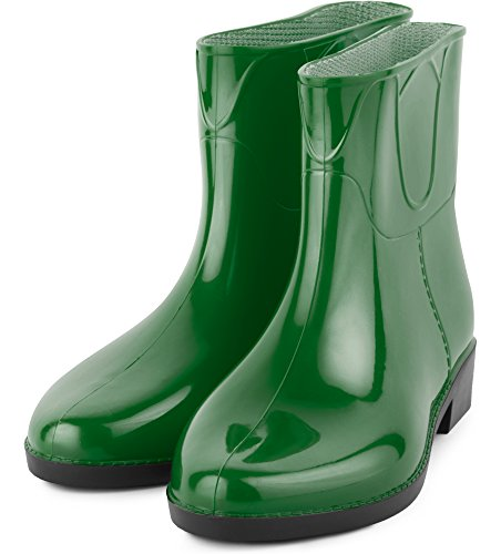 Botas LAZT201801 Zapatos Agua Botines Mujer de Verde Ladeheid YwqIpxx