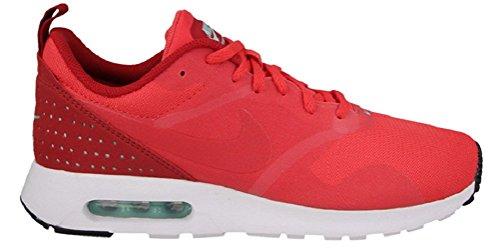Nike Men Air Max Tavas Low-Top Sneakers, Red, 7.5 UK red/white