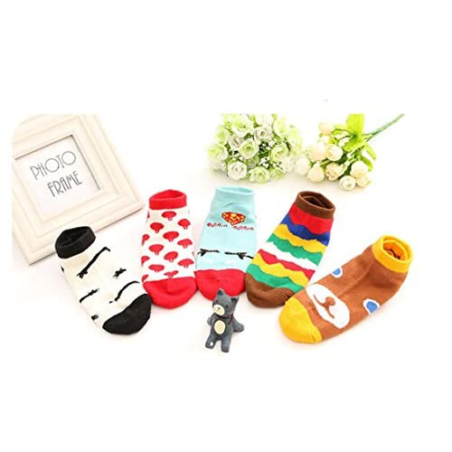 Jasmine Soft Cotton Bright Colored Socks for 3-5 Years Kids Unisex on sale