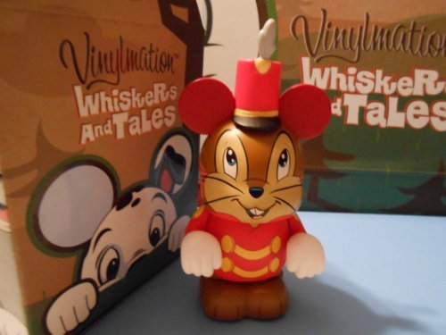 Whiskers and Tales Disney Vinylmation 3'' Figure CHASER TIMOTHY Cute ()