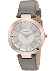 DKNY Womens NY2296 Stanhope Stainless Steel Watch With Grey Band