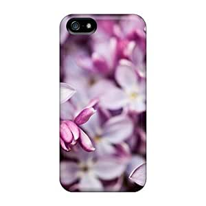 DrunkLove Awesome Case Cover Compatible With Iphone 5/5s - Clusters Of Lilac