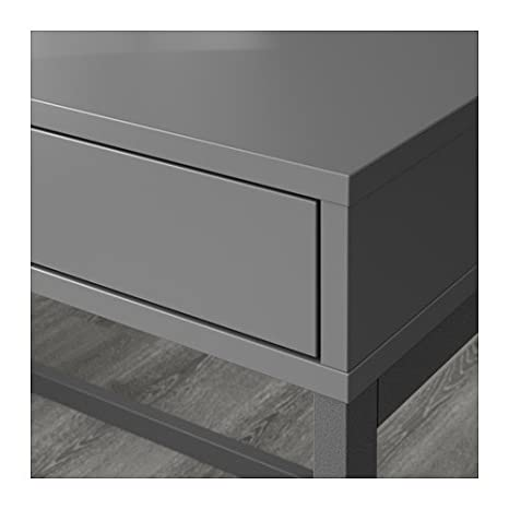 Ikea Alex Computer Desk with Drawers (White)