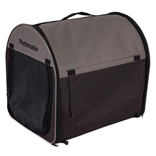 (Petmate Portable Pet Home, Small, Dark Taupe/Coffee Grounds Brown)