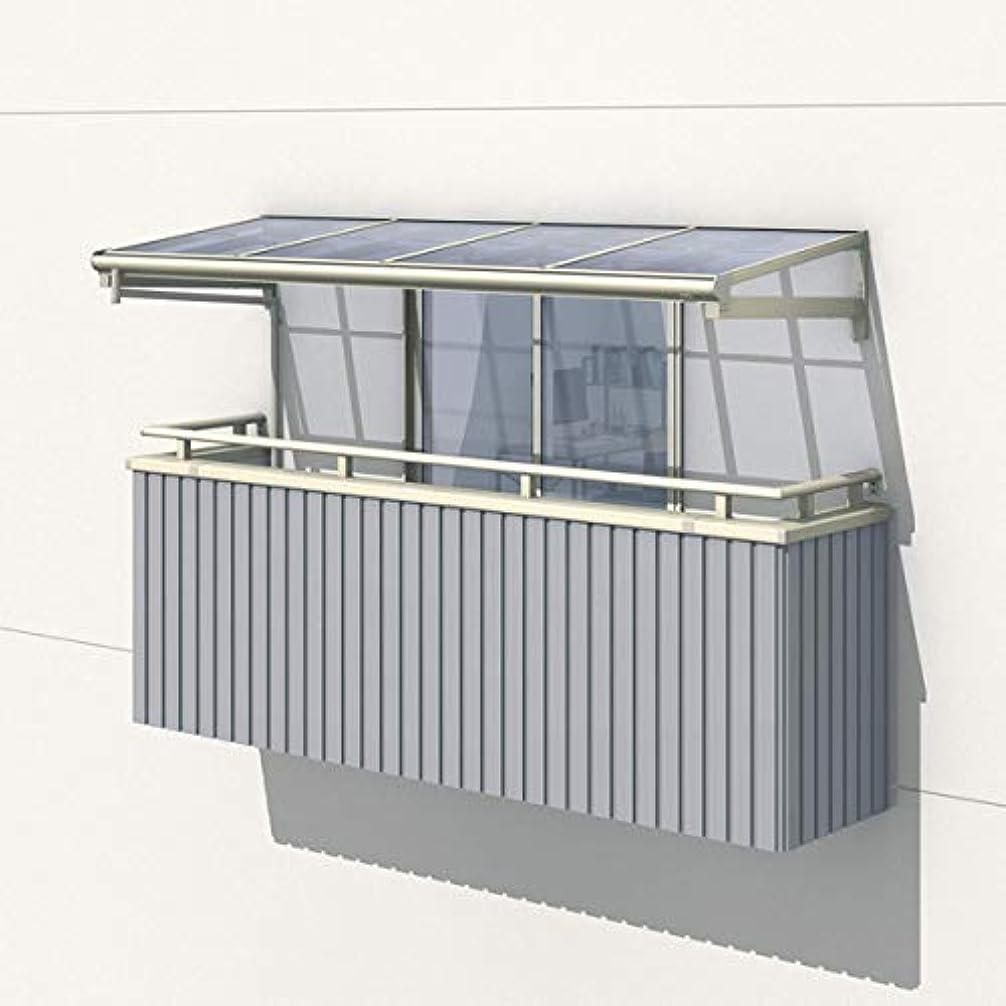 に賛成未使用写真撮影三協アルミ レボリューZ 0.5間×4尺 1500タイプ/メーターモジュール/1?2?3階用R型/柱なし式/単体 *雨トイは3m×2本を手配します 『テラス屋根』 ポリカーボネート 商品色をお選びください