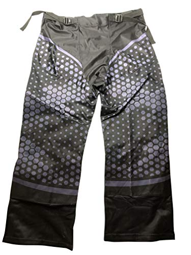 - Fang Inline Roller Hockey Pants Adult Senior (Honeycomb Grey/Black, Large)