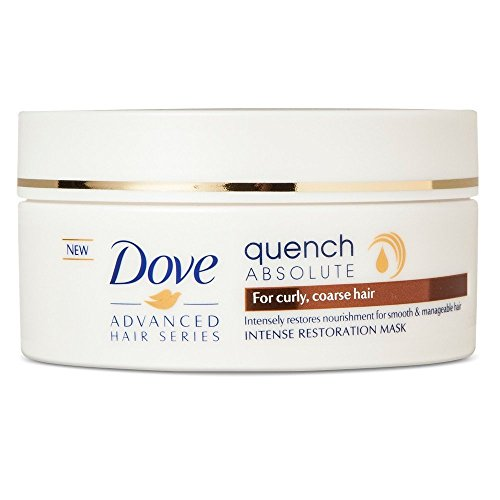 Dove Advanced Hair Series Intense Restoration Mask, Quench Absolute 6.70 oz (Pack of 2)