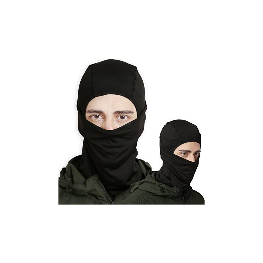 Balaclava Windproof Ski Mask Cold Weather Face Mask for Skiing, Snowboarding, Motorcycling & Winter Sports. Ultimate Protection from the Elements. Fits Under Helmets
