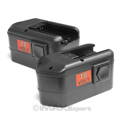 2 PC NEW 18 VOLT 18V Battery for 48-11-2230 MILWAUKEE Drill